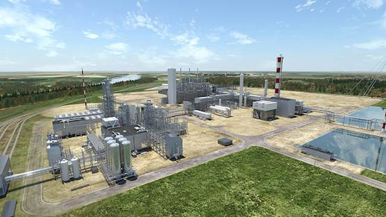 Inter Pipeline Integrated Propane Dehydrogenation and Polypropylene Facility