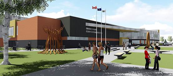 Grande Prairie Composite High School Replacement